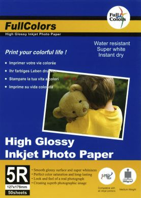 WL High Glossy fotopapper 200g 20st 13*18cm PH200-13X18
