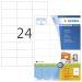 Etikett HERMA Premium A4 70x37 (100)