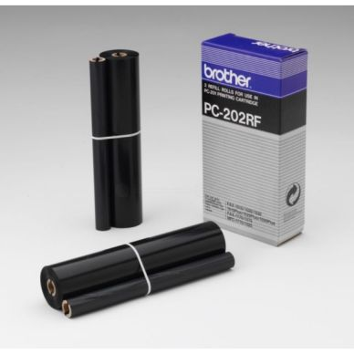 Brother Färgband 2-pack PC202RF