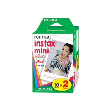 FUJI FILM INSTAX COLORFILM MINI GLOSSY(10X2/PK) 4547410364866