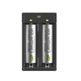 GP Li-ion Batteriladdare 18650 x 2, L211