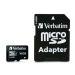 Verbatim 16GB MicroSDHC muistikortti adapterilla, lk 10