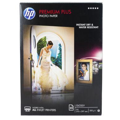 HP Fotopapper Premium Plus A4 20ark 300g CR672A