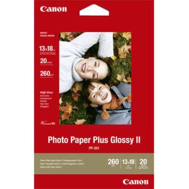 Canon Fotopapper Glossy Plus 13x18 cm 20 ark 260g PP-201