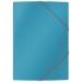 Leitz Cosy 3-klaffmapp Kart. Blå
