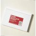 Kartotekkort A5 Linjert Hvit Pakke/100