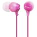 Sony Hodetelefoner in-ear MDR-EX15LP Rosa