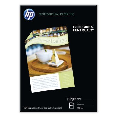 HP Fotopapper HP Professional A4 matt, 100 ark, 180g Q6592A