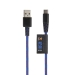 Xtorm kiinteä sininen USB C, 1 m Kevlar