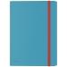Leitz Cosy 3-klaffmapp med ficka Blå