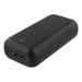 DELTACO 30 000 mAh Powerbank, USB-C