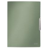 3-klaffmapp Leitz Style PP A4 Cel.grön