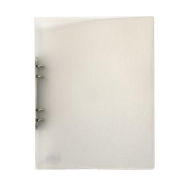 Ringpärm A4 i plast transparent vit 7322390563211