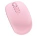 Microsoft Wireless Mobile Mouse 1850 Rosa