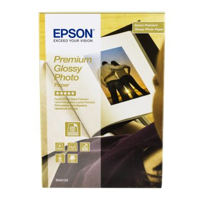 Epson Fotopapper Premium Glossy 10x15 40ark 255g C13S042153