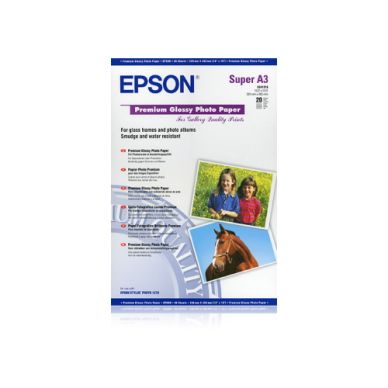 Epson Fotopapper Epson Premium Glossy A3+, 255g C13S041316