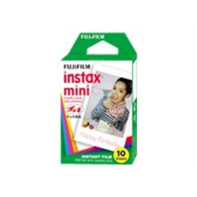 FUJI FILM INSTAX COLORFILM MINI GLOSSY. (10/PK) 4547410364859