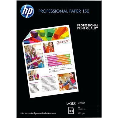 HP Fotopapper HP A4 Proffesional Glossy 150g 150 ark CG965A