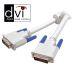 Vivanco Datakabel DVI-D hane - DVI-D hane dual-link 3m