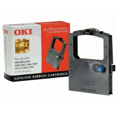 OKI Färgband svart 09002309