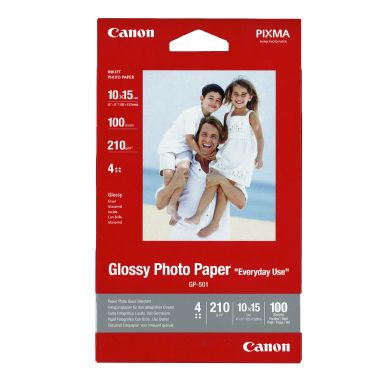 Canon Fotopapper Glossy 10x15 100 ark 200g GP-501A6