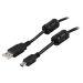 DELTACO USB 2.0 kabel Typ A Ha - Typ Mini B Ha 2m