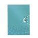 3-klaffmapp Leitz WOW PP A4 isblå