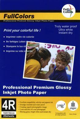 WL Premium glossy fotopapper 265g 10*15 20-pack PH260-10X15