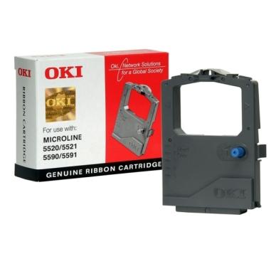 OKI Färgband svart 01126301