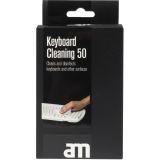 AM rengöringsdukar för tangentbord 50 st