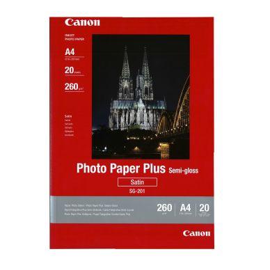 Canon Fotopapper Semigloss A4 20 ark 260g SG-201A4