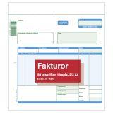 Blankett faktura 2/3 A4 2x50 blad
