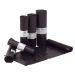 Plastsäck LD 50my 125L svart, 25 st/rulle