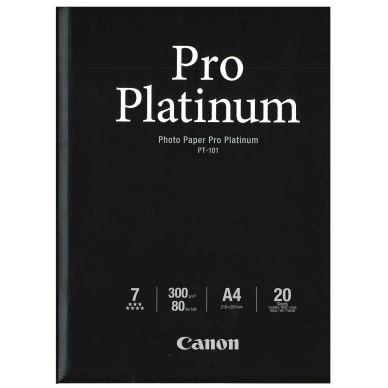 Canon Fotopapper Pro Platinum A4 20 ark 300g (PT-101) 2768B016