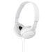 Sony kuulokkeet MDR-ZX110W , valkoinen