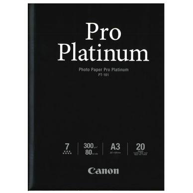 Canon Fotopapper Pro Platinum A3 20 ark 300g (PT-101) 2768B017