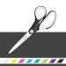 Scissors Titanium 205mm Leitz WOW Black
